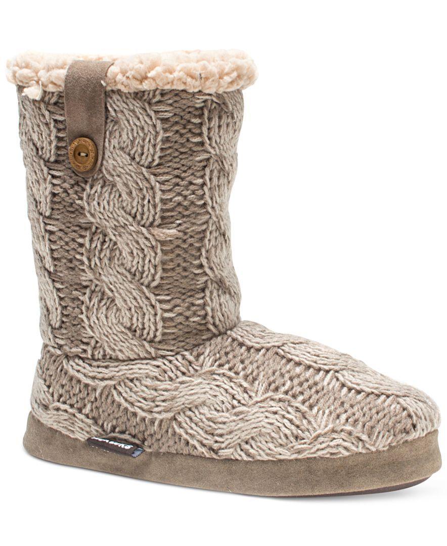 Muk Luks Arden Mid-Shaft Sweater Boots