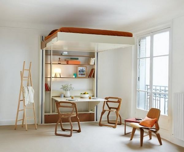 35 Space Saving Bed For Small Space | Space saving beds, Spaces ...