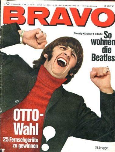 BRAVO-5-1967-BEATLES-DONOVAN-KINKS-PIERRE-BRICE-MARIE-VERSINI-KARIN-DOR