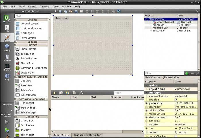 Qt Creator design #webdeveloper | Web Design | Design, Web design