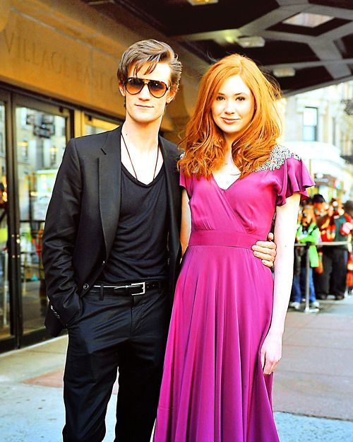 f4123a5f6b The Doctor & Amy. I kind of want to read a fanfic based on this now;  they're