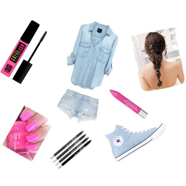 Love them by swimslg on Polyvore featuring polyvore, beauty, Isadora, CARGO, Maybelline, Zara and Converse