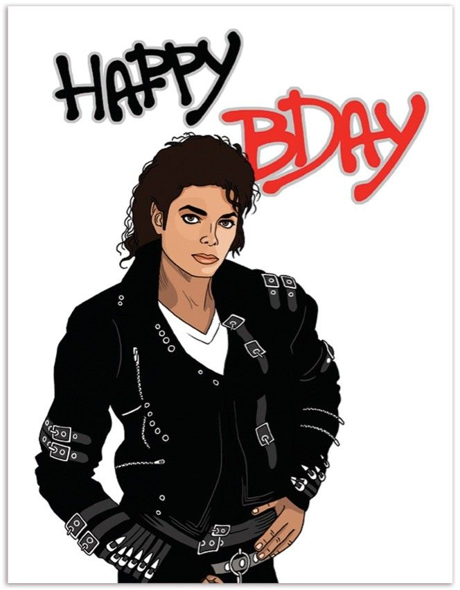 happy birthday michael jackson Michael Jackson Happy Bday   Illustrated by Laura Szumowski | The  happy birthday michael jackson