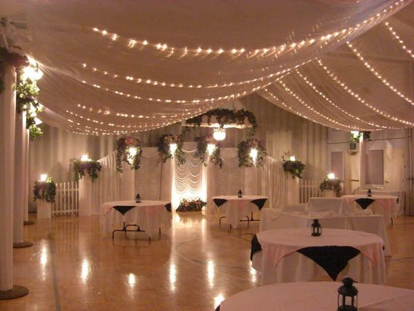 Wedding hall decorations on pinterest wedding stage for Hall decoration in home
