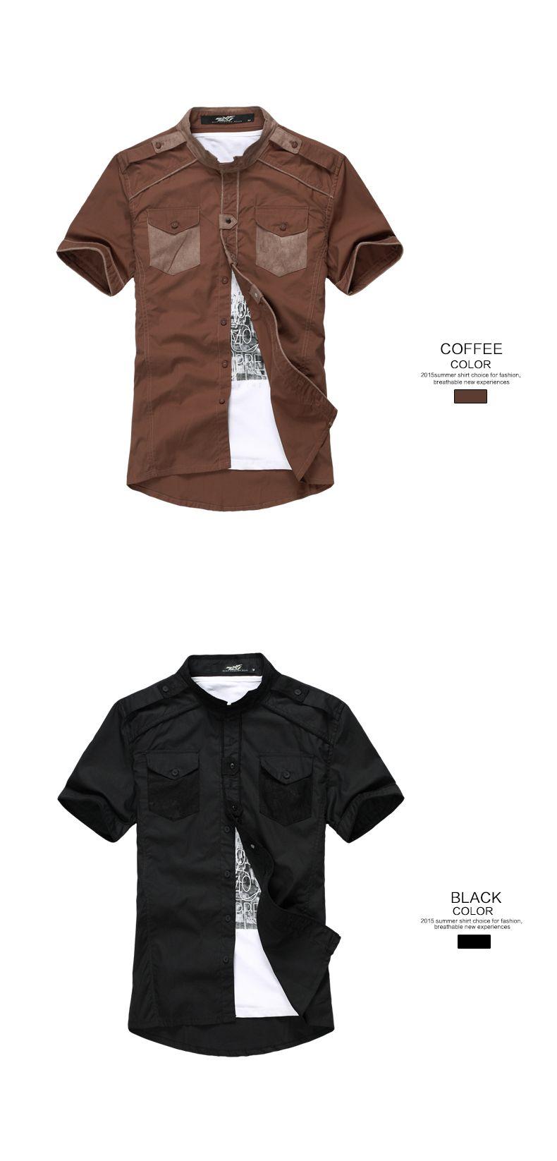 b3a5e862b45 Mens slim fit de alta calidad de la manera caliente al por mayor mens  camisas de vestir-Tallas grandes de Camisas y Blusas-Identificación del ...