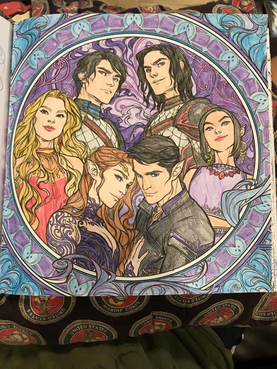A Court Of Thorns And Roses Coloring Book Unique The Dauntless