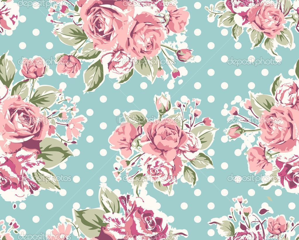 Wallpaper Vintage Flowers Wallpapers