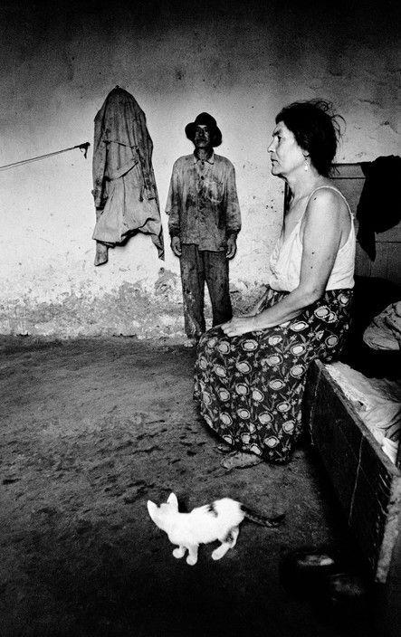 Josef Koudelka Romania 1968 Gypsies White