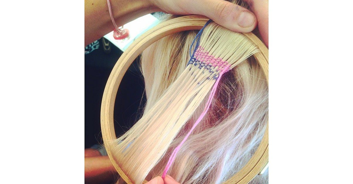 Hair tapestry is the latest festival trend.. Like or not like?
