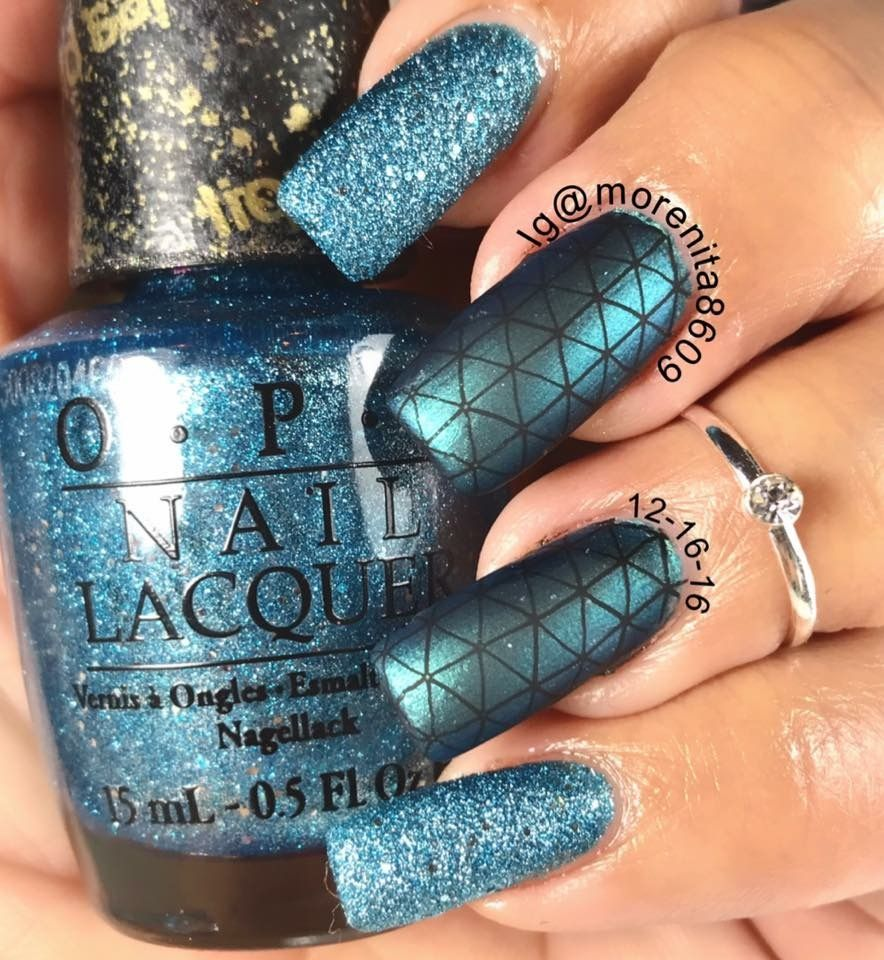 What a beautiful texture nail polish this is, by OPI Tiffany Case ...