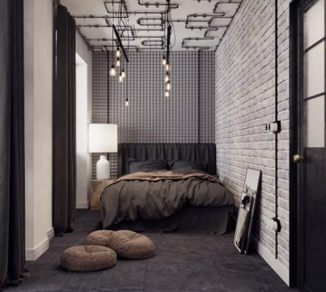 10 Industrial Style Bedroom Design Ideas For Millennials In 2020 Industrial Bedroom Design Industrial Style Bedroom Modern Bedroom Design