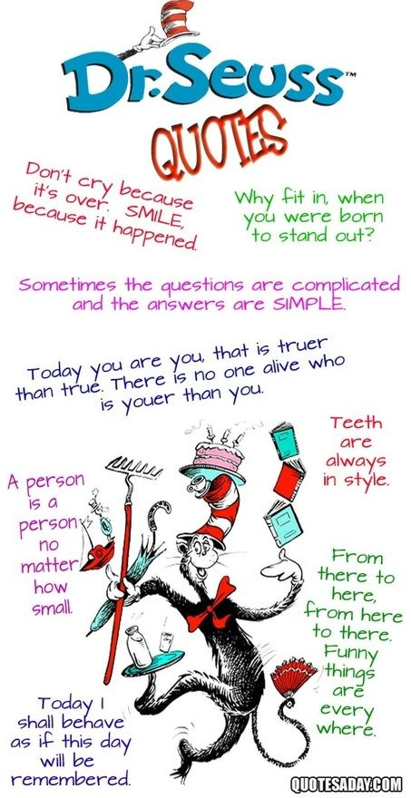 Dr. Seuss Quotes ... Perfect For The Boys Nursery That We May Do