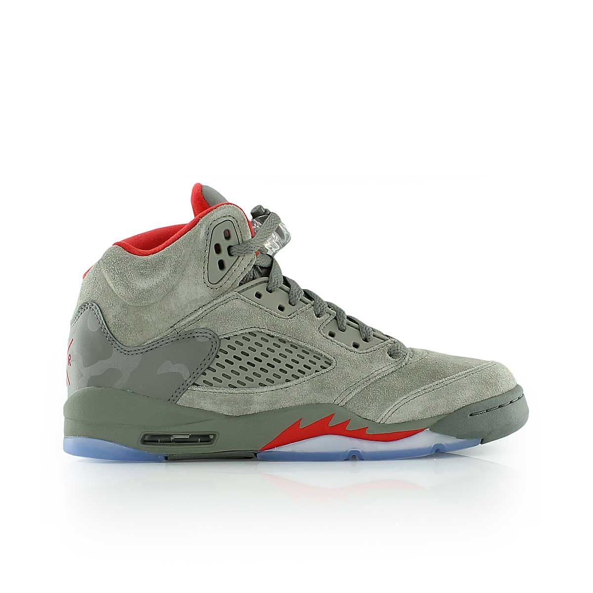 official photos ba189 72b64 jordan AIR JORDAN 5 RETRO BG DARK STUCCO UNIVERSITY RED-RIVER ROCK
