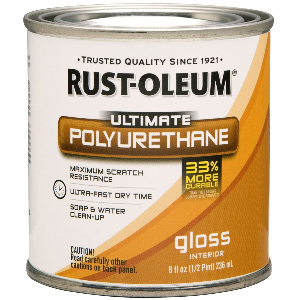 Rust Oleum Ultimate Polyurethane Clear Gloss 8oz Rust Kitchen Countertops Lowes Home Improvements