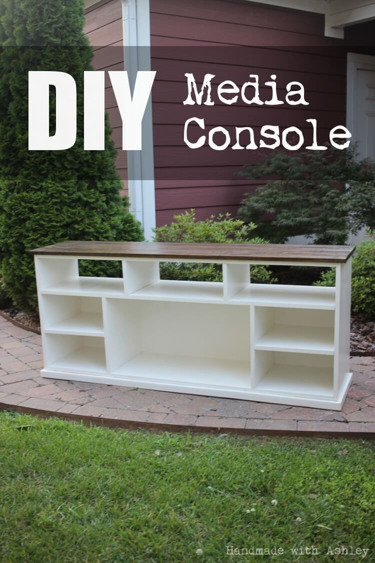 DIY Apothecary Console (Plans by Ana White) - Handmade with Ashley #anawhite