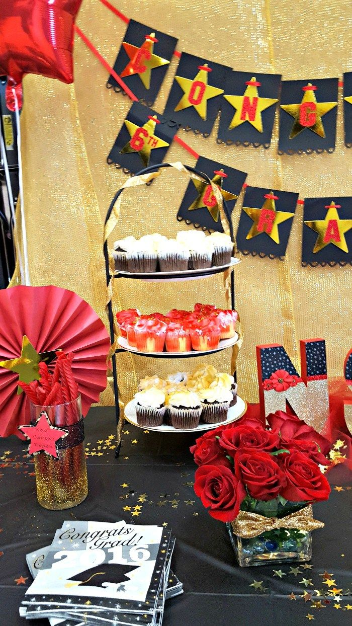 Red Carpet Theme Party For 6th Grade Graduation Party Ideas On A
