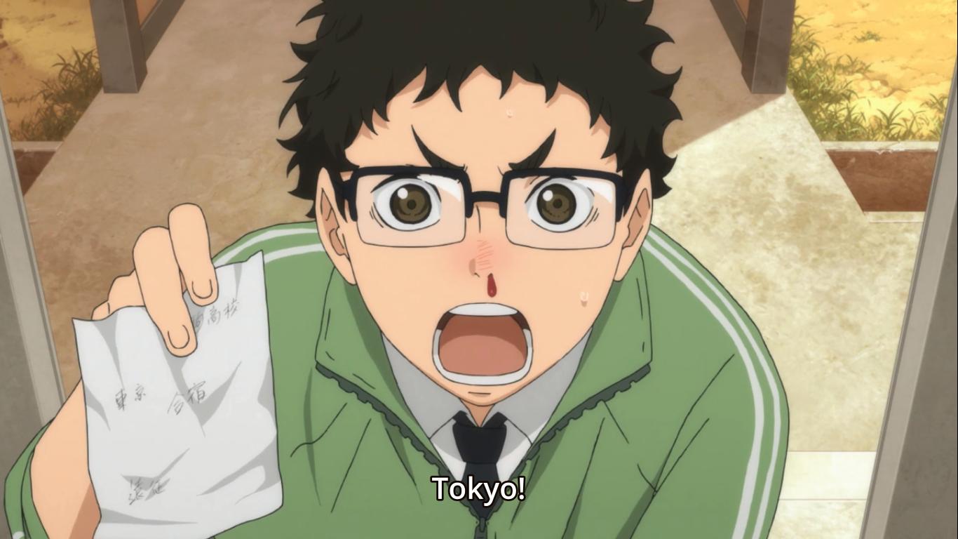 Haikyuu Season 2 Takeda Ittetsu Episode 1 Haikyuu