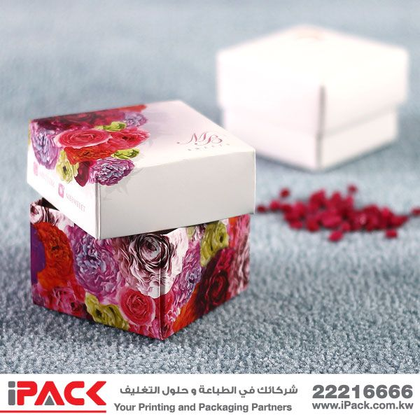 Presentation Box With Top And Bottom Construction Style علب تقديم مكونة من قطعتين Tiny In Size But Huge On Impact And Content Flavo Design Prints Packaging