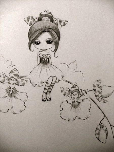 Juri Ueda Juriu Kai Fine Art Desenho Avatar Bonecas