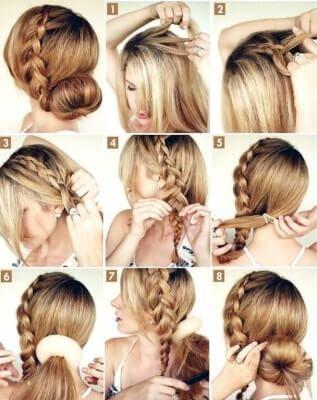 peinados para cabello largo bonitos paso a paso de hacer