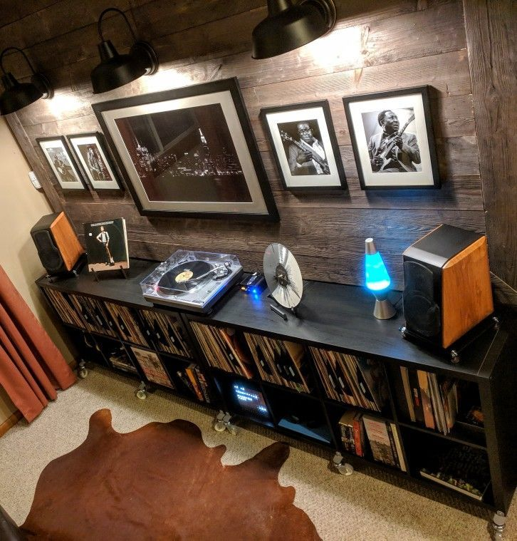 Vinyl Record #Storage #Music Room – Modern