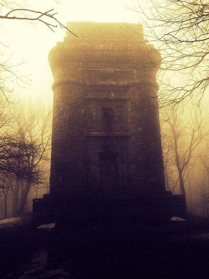 Bismarck tower in the fog by Ewa Olimpia Bieleńko, via 500px.