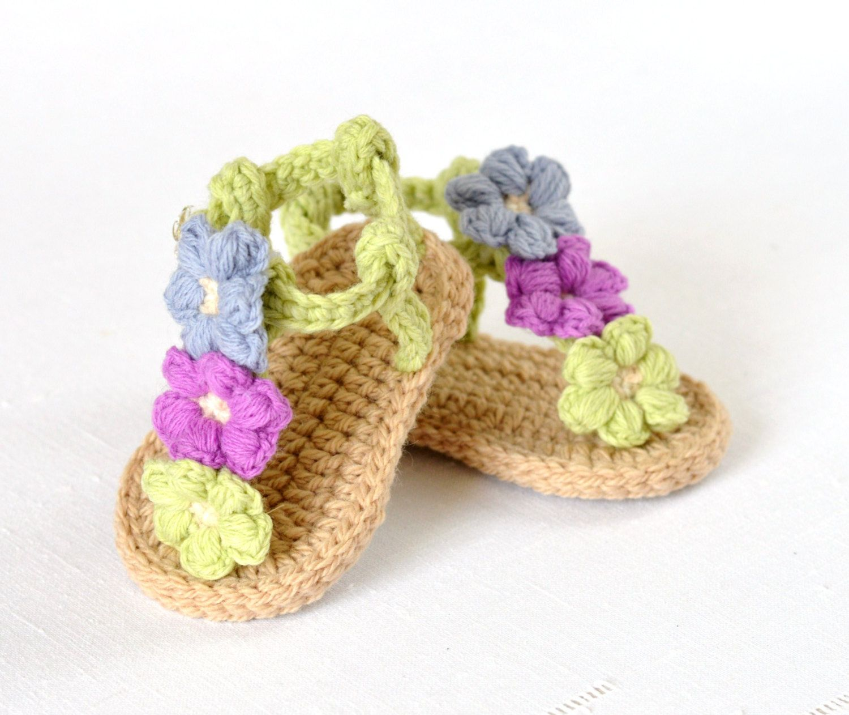 Crochet pattern baby sandals with little puff flowers instant crochet pattern baby sandals crochet baby shoes with little puff flowers instant download crochet tutorial intermediate bankloansurffo Choice Image