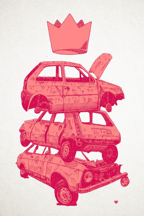 zcheko: RUSTED PINK, screen printing by cheko.