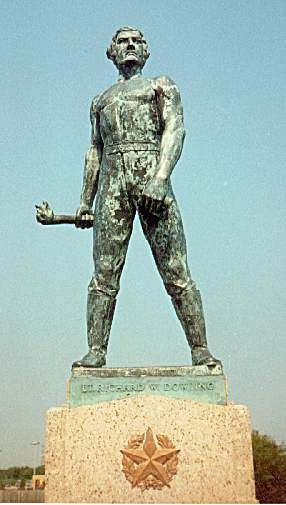 Dick Dowling Statue, First Public Monument in Houston