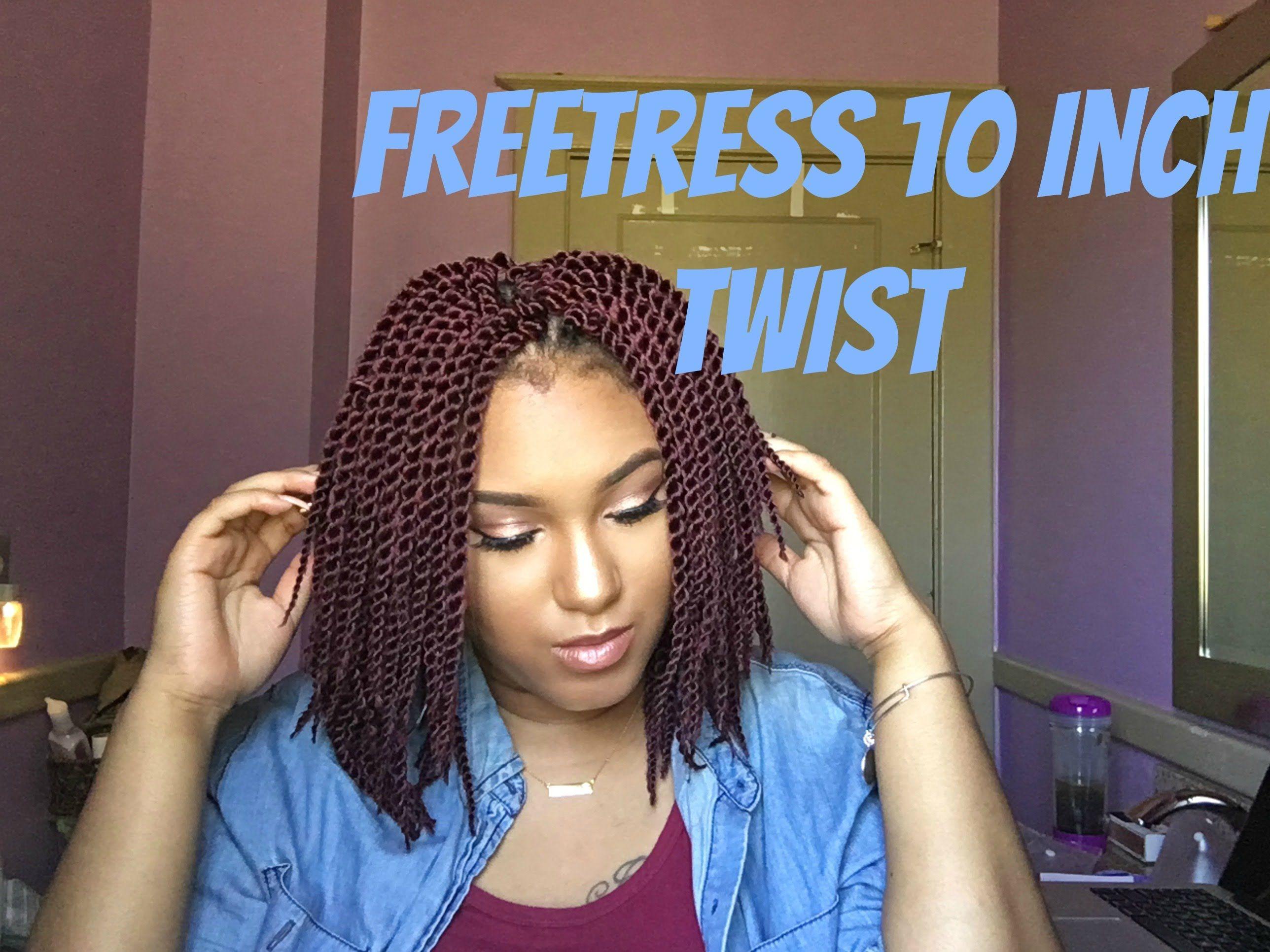 Crochet braids w freetress single twist 10inch theharelife my youtube channel pinterest - Crochet braids twist ...