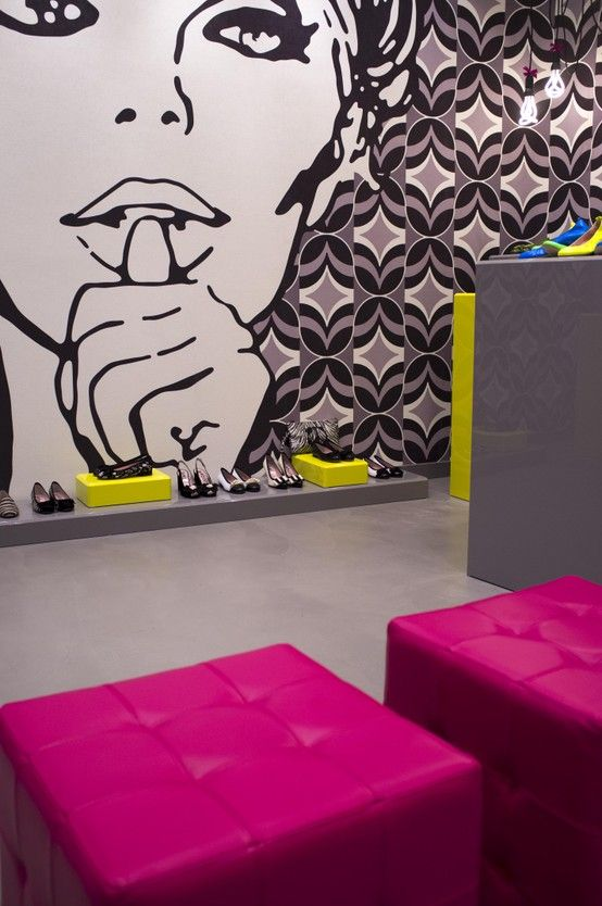 Interior concept store le babe rialto 19 a for Arredamento pop art