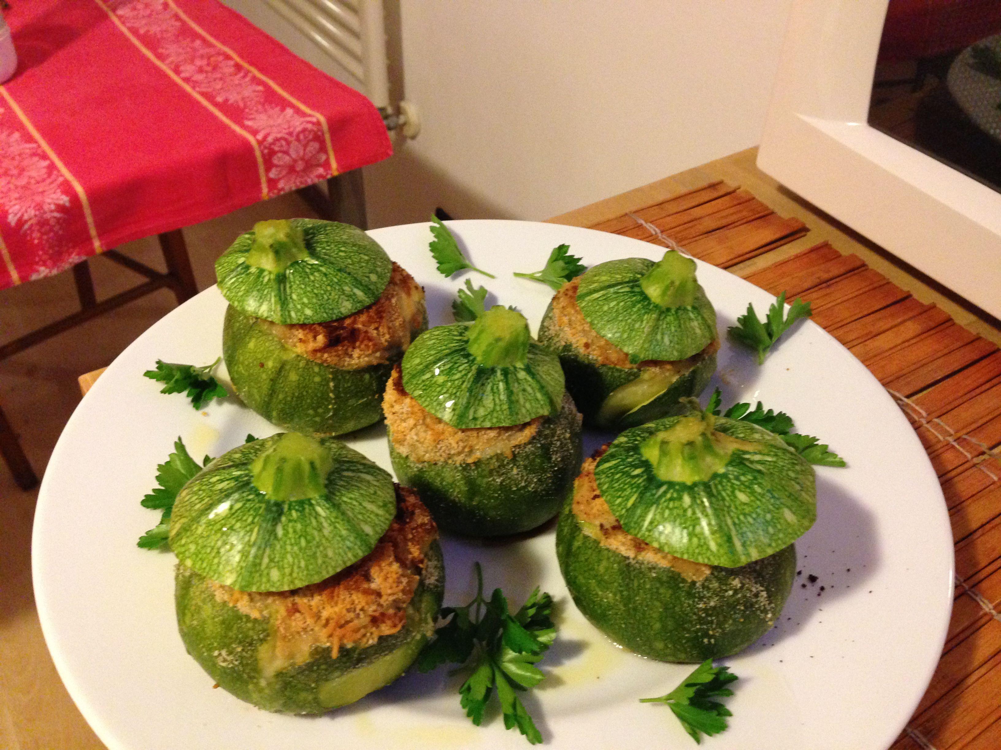 Arte del gusto - zucchine tonde ripiene