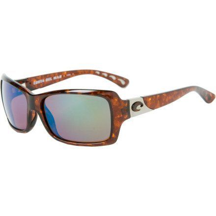 dfe546813c2 Costa Del Mar Islamorada Polarized Sunglasses - Costa 580 Glass Lens -  Women s Tortoise Green Mirror