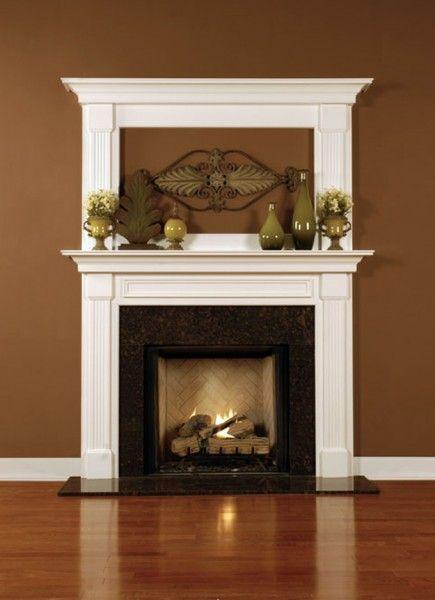 Leesburg Wood Fireplace Mantel Custom Wood Fireplace Mantel