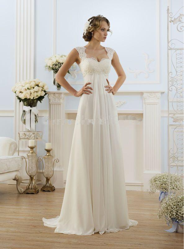 Vestidos de novia sencillos de dia