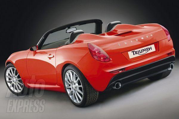Triumph Prototype Ware Schon Neue Pinterest Cars