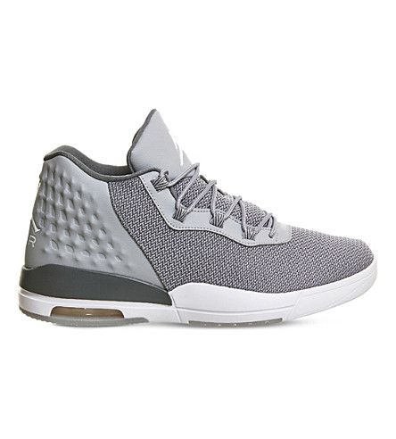 NIKE Jordan Academy Mesh High-Top Trainers. #nike #shoes #trainers
