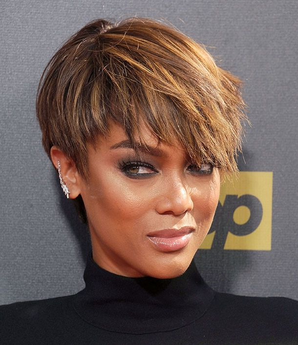 Tyra Banks Ponytail Hairstyles: News: Tyra Banks Goes Makeup-Free; How To Embrace Frizz
