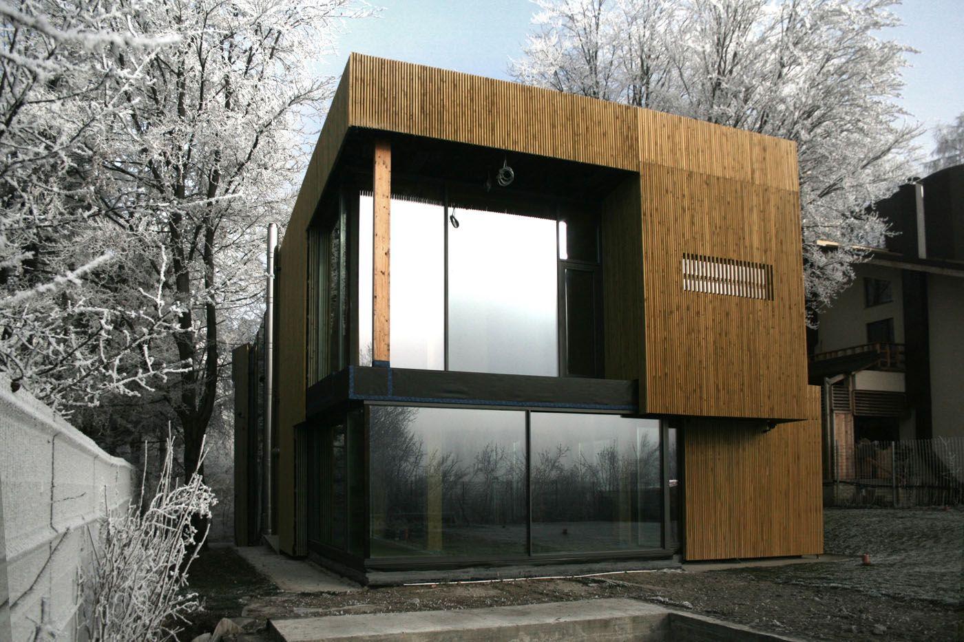 Casa Passiva nella foresta. Architettura sostenibile immersa nella natura   LegnoOnWeb