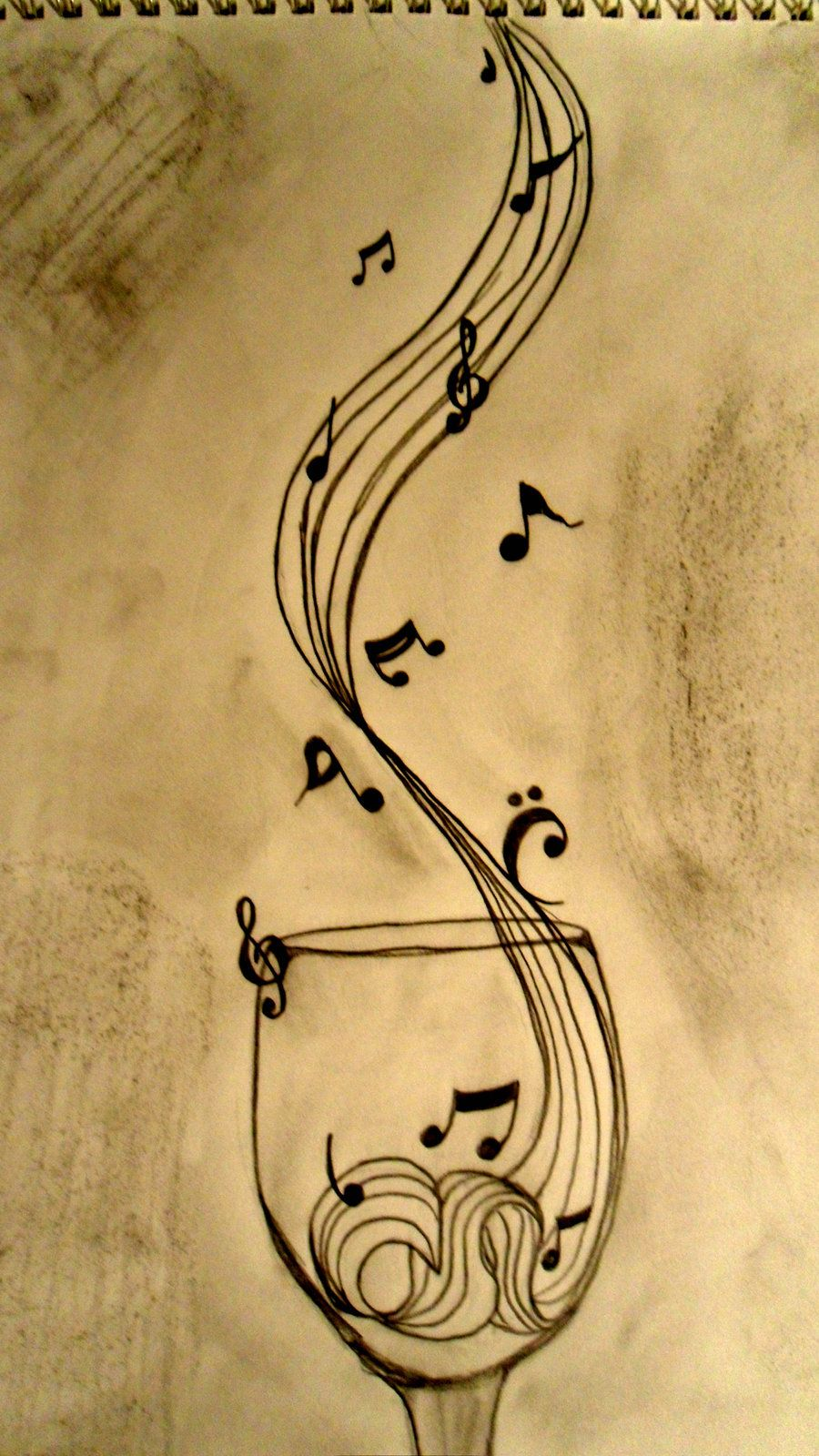 music notes by ~tinkerbell229 on deviantART | Music Notes ...