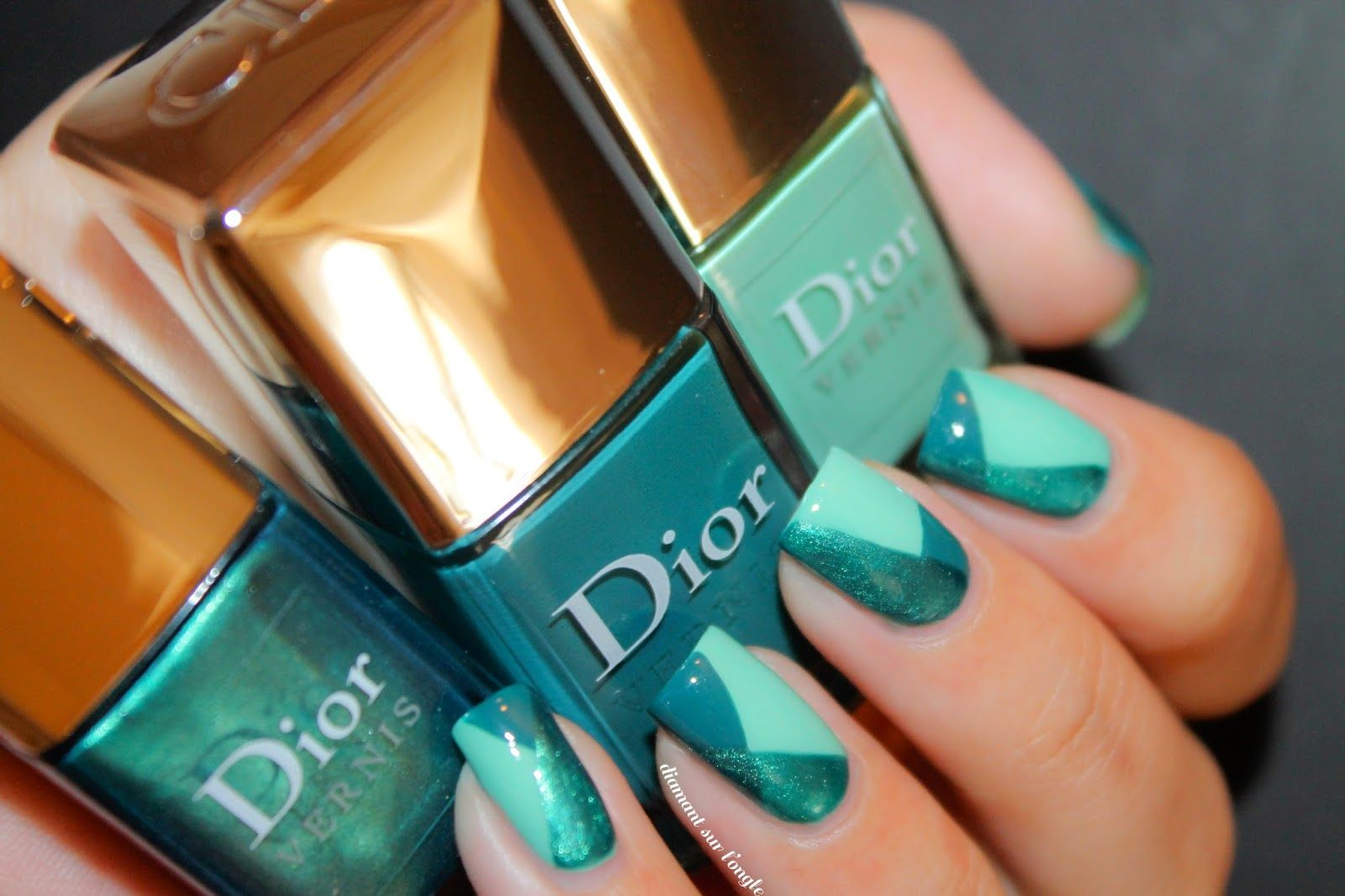 ∆ Geometric Nails // Nailstorming ∆ by diamant sur l'ongle