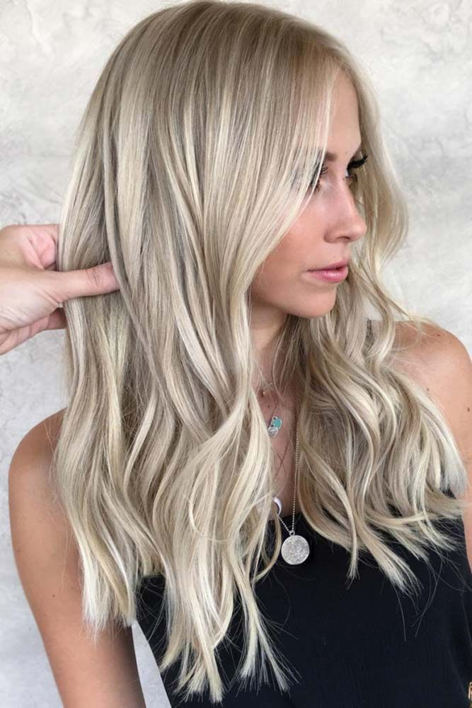 Hot Looks With Ash Blonde Hair And Tips #ashblondebalayage