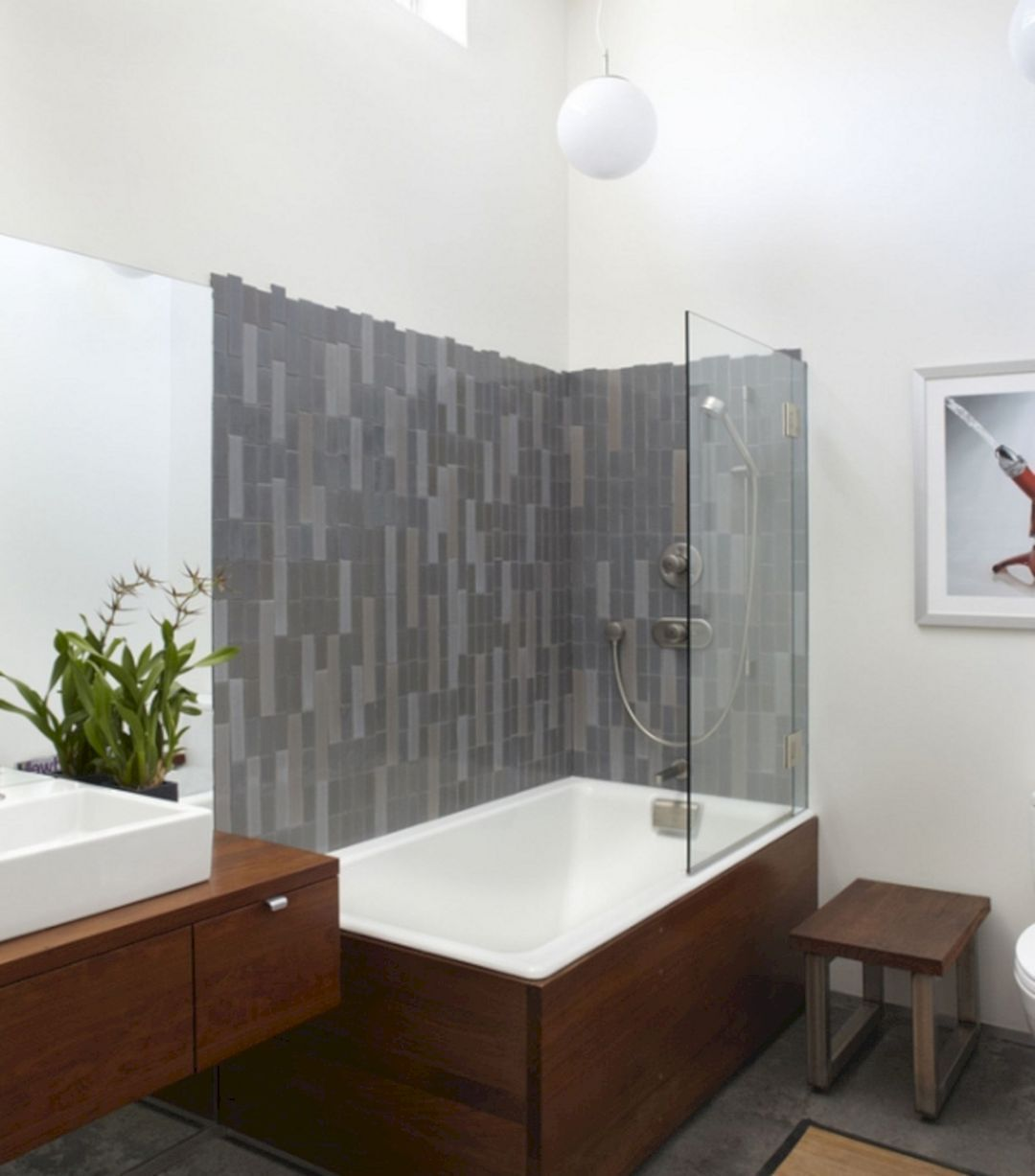 Modern Bath Shower Combination 6 With Images Bathtub Shower