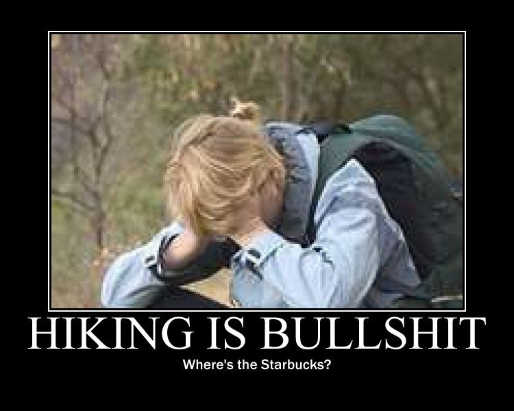 Funny Hiking Meme : Mary look what i made in honor of our epic fail at the grand canyon