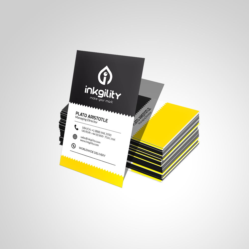 Creative Zigzag Design Business Card | The Design Inspiration At UPS ...