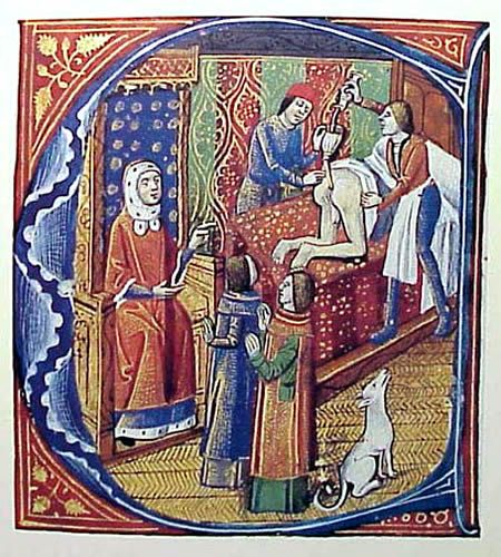 Image result for medieval manuscript cancer treatment