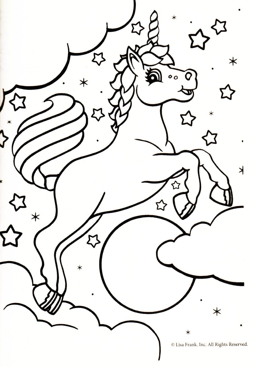 Rainbow Unicorn Unicorn Coloring Pages Coloring Pages