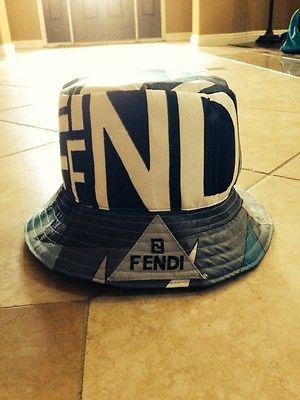 Vintage Fendi Bucket Hat  0fec59311d4