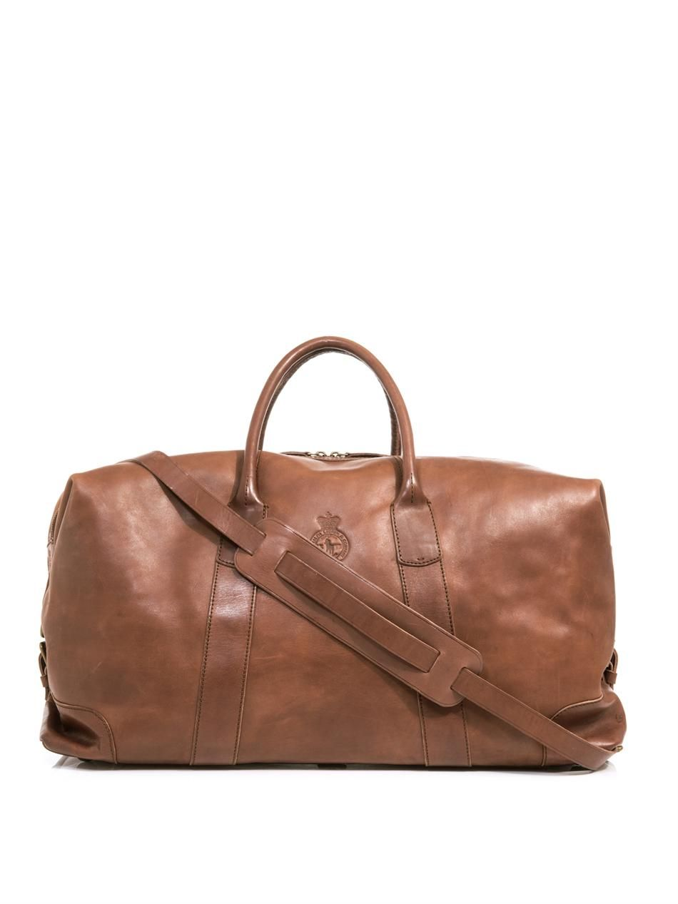 Leather weekender bag   Polo Ralph Lauren   MATCHESFASHION ... bc456de738