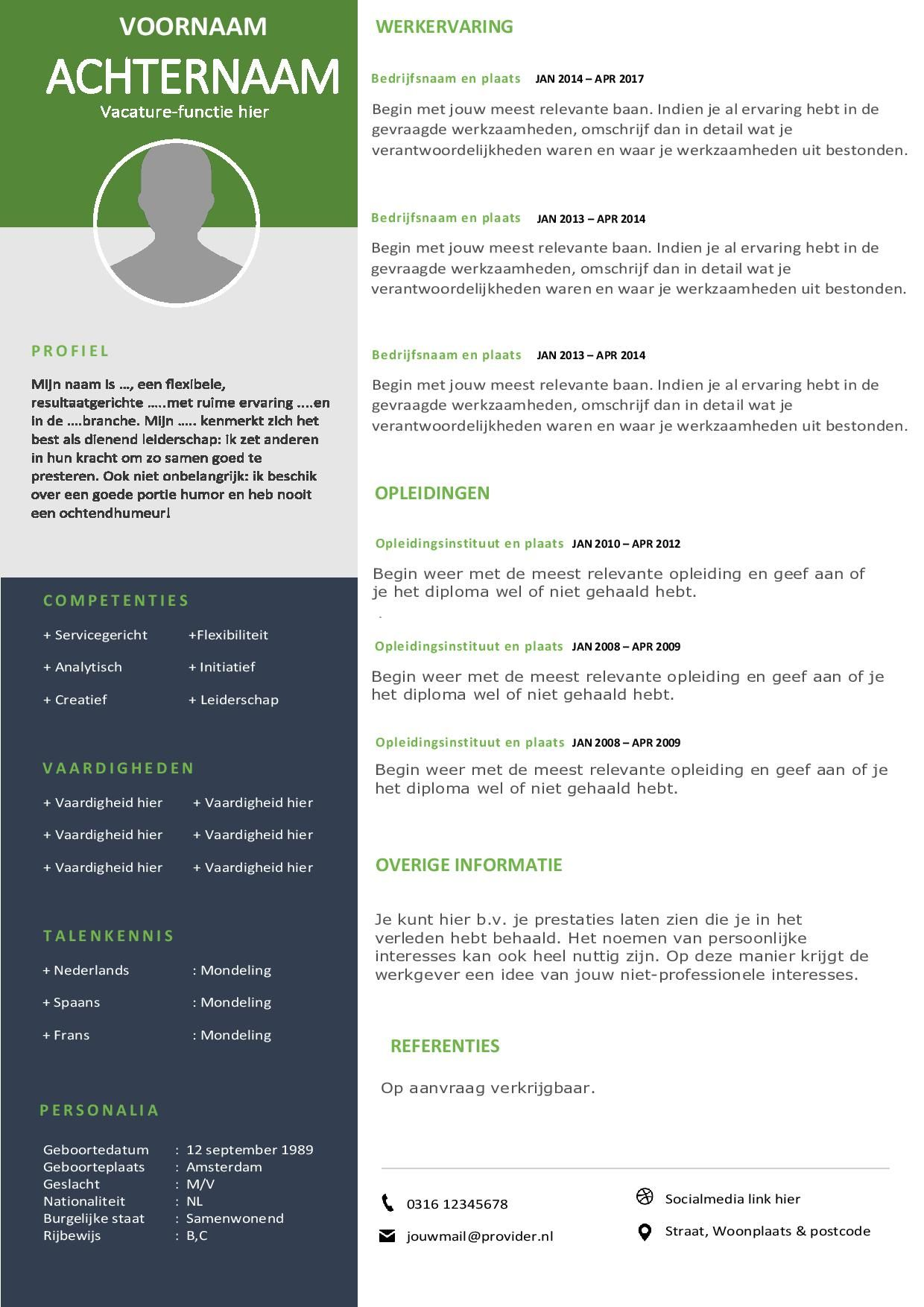 val op met dit modern cv sjabloon sjabloon, sjablonen warehouse supervisor job description resume sample docx free download nursing assistant with no experience